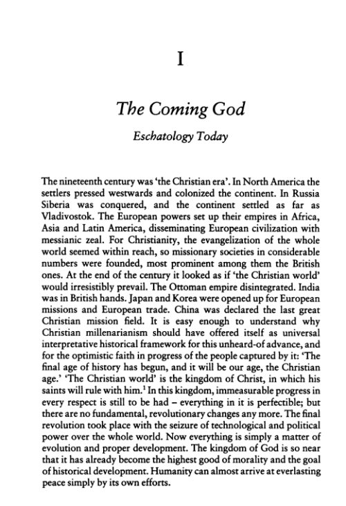 Consummatum Est  Eschatology and Church in the Gospel of St  John