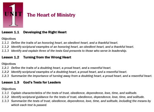 Berean School of the Bible Digital Courses (27 courses