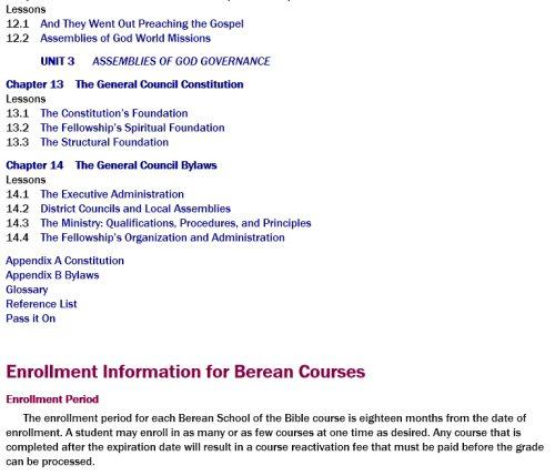 Berean School Of The Bible Digital Courses 27 Courses Logos