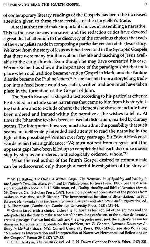 synoptic evangelism and the gospel of john essay
