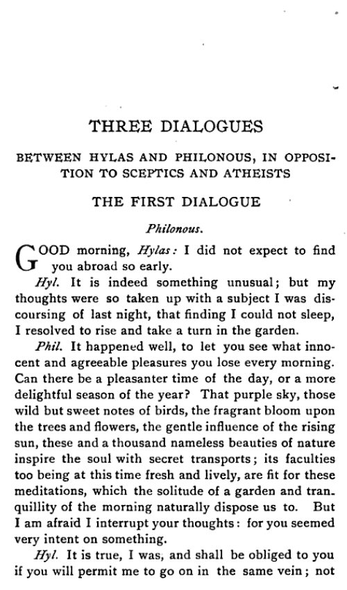 opposing anti abstract ideas in the three dialogues between hylas and philonous by george berkeley Perfect for students who have to write three dialogues between hylas and  philonous essays  george berkeley  the philosophical view berkeley  opposes distinguishes between subjective ideas, which exist only as the content  of our  how does berkeley argue against the possibility of abstract general  ideas.