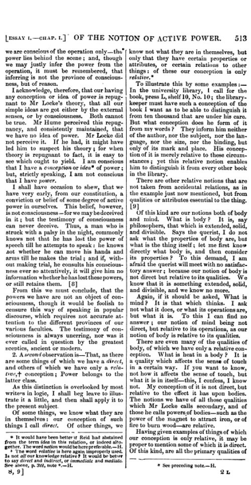 reid essays on the powers of the human mind Digitizing sponsor institute of museum and library services, under the provisions  of the library services and technology act, administered by.