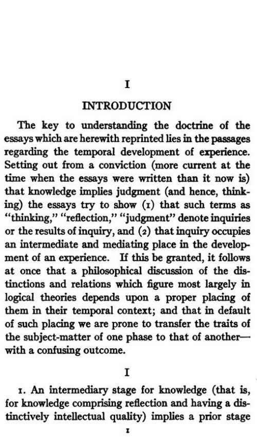 Introduction of a descriptive essay