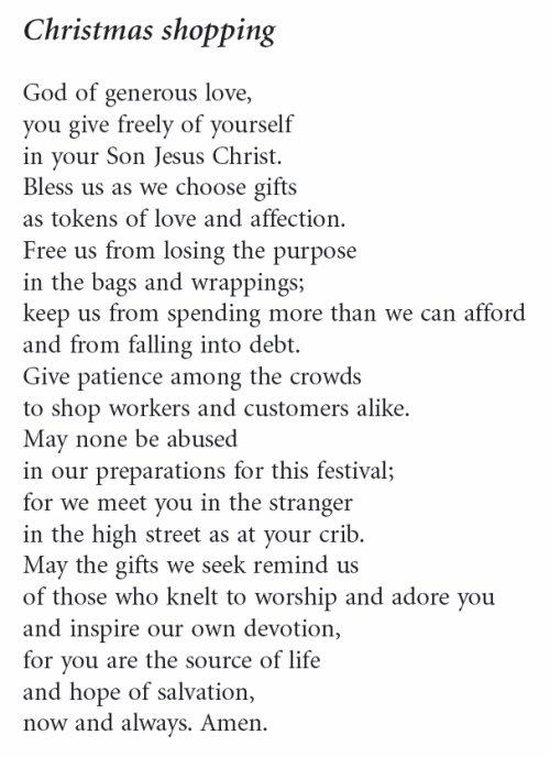 Sample Christian Prayers