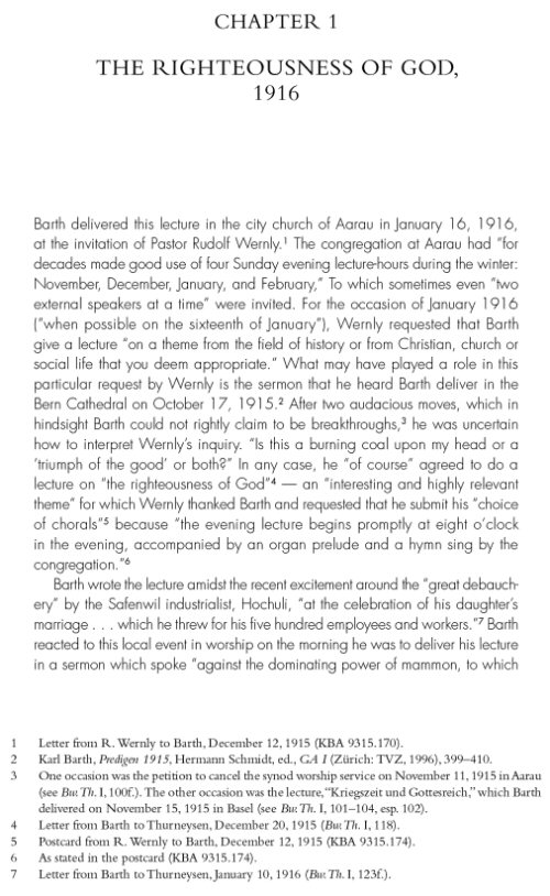 """the life of karl barth and his three fold doctrine of the word of god According to barth god exists eternally in three modes  he was possessed even in his earthly life,  """"the christology of karl barth,"""" bulletin of the ."""