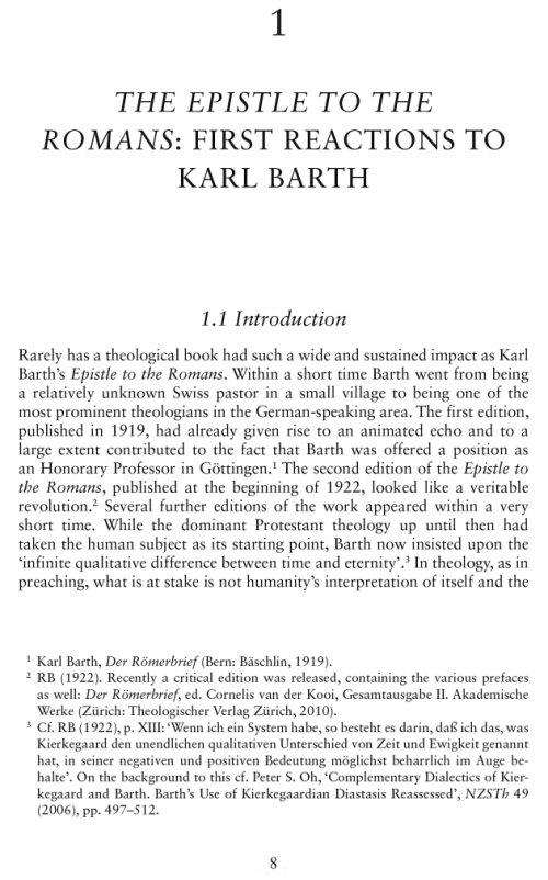 karl barth epistle to the romans pdf