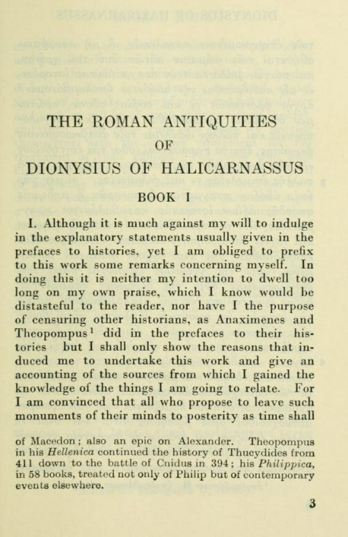Dionysius of Halicarnassus' Roman Antiquities (14 vols ) | Bible