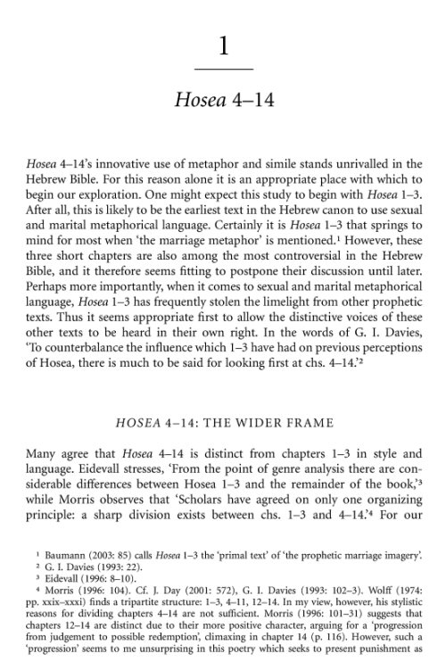 the importance of understanding the historical and literary context of the bible Walther eichrodt underscores the theme of covenant to be the core of biblical  studies the significance of the concept of covenant for the understanding of the  ot  as a literary endeavour, the article presents precise background and  historical.