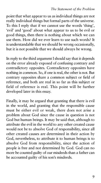 a reflection on flaws in anselms and aquinas arguments on the existance of god To what extent do the strengths of the argument overcome its weaknesses the major features: anselm proof definition of god 'that which can be conceived not to exist is not god' anselm existence is a necessary quality of god because to exist in reality (de re) is greater than to exist only in the mind (de dicto.