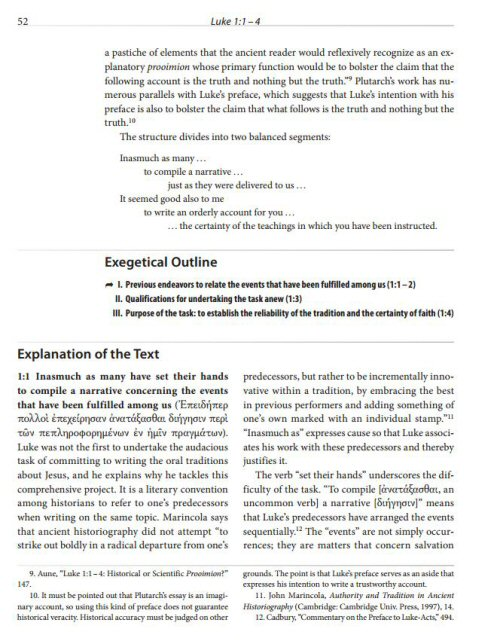 Zondervan Exegetical Commentary On The New Testament Zecnt   Luke