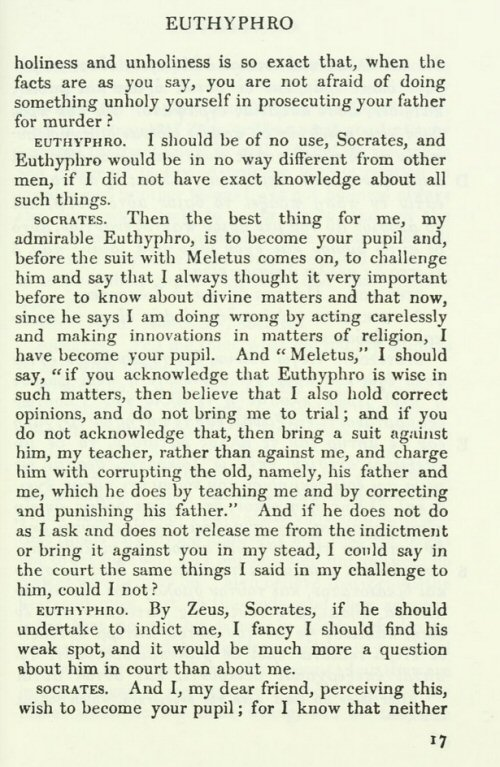 euthyphros definition of piety So euthyphro's definition this question that socrates asks in the euthyphro is significant far beyond his concerns for a definition of piety 10a-10b euthyphro.