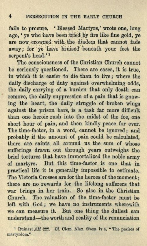 persecution of the early church Persecution in the early church a chapter in the history of renunciation by herbert b workman.