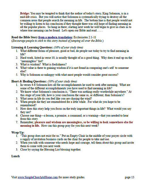 Ecclesiastes: A 12-Week Study - Crossway.org