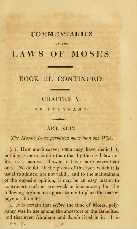 Commentaries On The Times: Commentaries On The Laws Of Moses (4 Vols.)