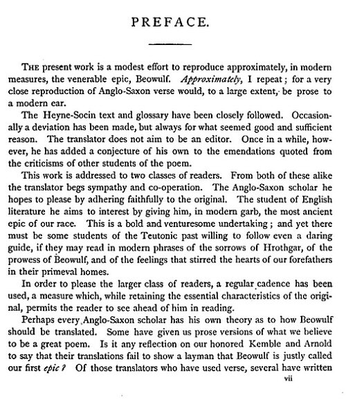 an overview of the topic of the beowulf an anglo saxon epic The anglo-saxon poems, the wanderer, the seafarer, and the wife's lament the old english, or anglo-saxon, era of england lasted from about 450-1066 ad in the epic poem beowulf, by an unknown author, the protagonist beowulf is visioned to be the archetype of an anglo-saxon hero.