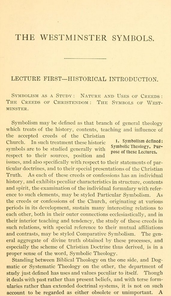 graphic about Westminster Shorter Catechism Printable known as Pick Functions upon the Westminster Conference (32 vols.) Trademarks