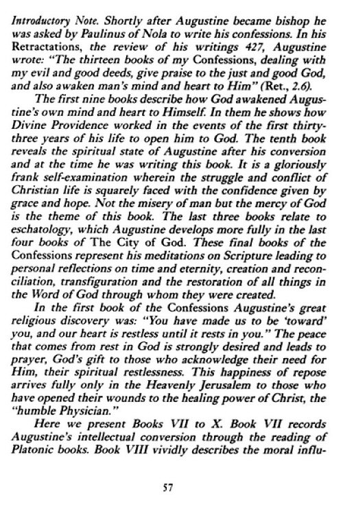 augustine and conversion essay (augustine) even though augustine's confessions recounts specific events in augustine's life, it is not a purely autobiographical book for the purpose of we will write a custom essay sample on faith and reason: augustine's road to conversion specifically for you for only $1638 $139/page.