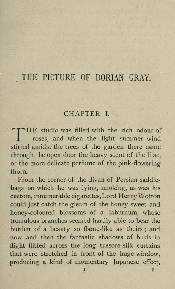 picture of dorian gray essay thesis Personal opinion of the picture of dorian grey and how the author oscar wilde depicted himself in the novel this essay reads the novel.
