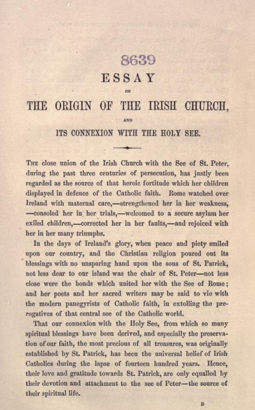 essays discipline constitution early irish church Essays - welcome to our essays section, with an extensive repository of over 300,000 essays categorised by subject area - no registration required.