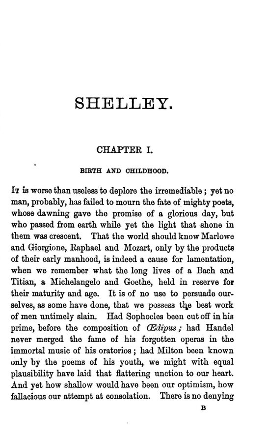 account of the life and literary works of percy bysshe shelley Romantic poets in english literature percy bysshe shelley poems  percy shelley's 'ozymandias':  l21 shelley life and context - duration: .