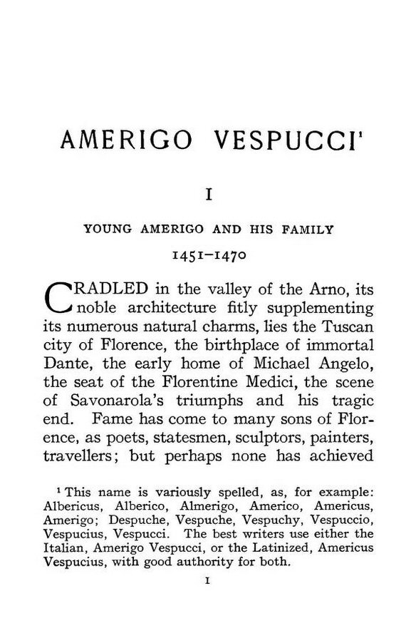 amerigo vespucci summary Get this from a library amerigo vespucci [nina brown baker] -- a lively account of the explorer whose name was given to the new world.