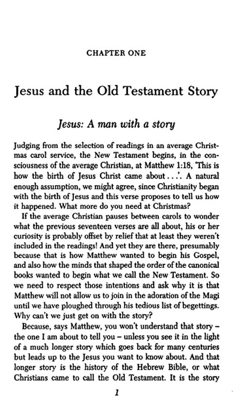 understanding of the old testament essay