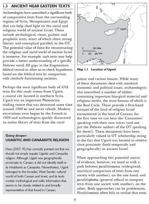 an overview of the religion of canaanites and ancient israelites The canaanites and israelites depended on summary canaan was not a semitic let us find you another research paper on topic history of the canaanite religion.