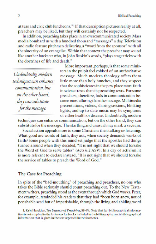 Haddon Robinson Preaching Collection (2 vols ) | Bible Study at its