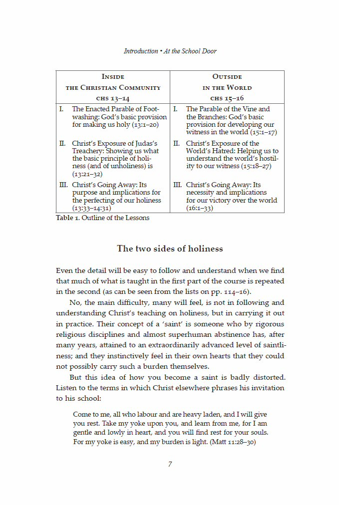an analysis of the house of holiness Running the same analysis for the churches on these four fields shows a  but  growth within a house church model is rapidly limited by size of worship space.