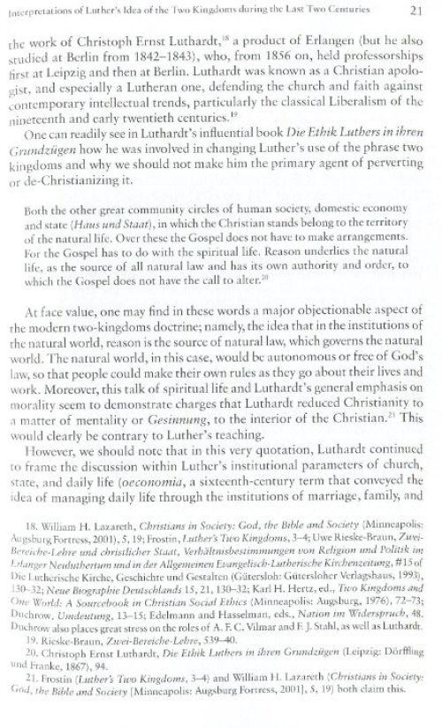 texts and studies in reformation and post reformation thought  martin luther s understanding of god s two kingdoms a response to the challenge of skepticism