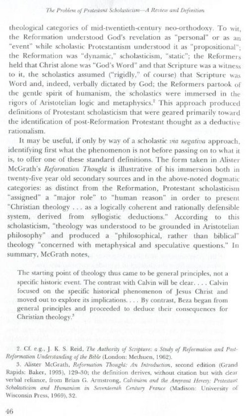 essay in protestant reassessment scholasticism Browse and read protestant scholasticism essays in reassessment protestant scholasticism essays in reassessment bargaining with reading habit is no need.