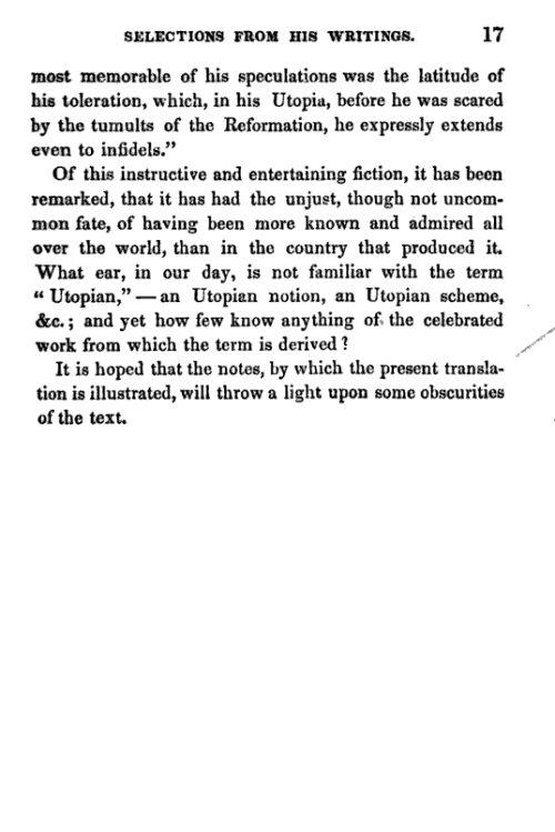 utopia sir thomas more essay