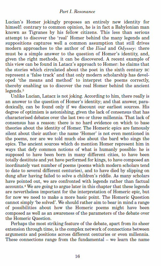 a literary analysis of the reoccurring homeric themes in the odyssey by homer Homer, odyssey 11218-222, trans jeff adams gvsu mcnair scholars journal volume 11, 2007 5 abstract this study is a literary analysis of homer's iliad and odyssey and virgil's aeneid of specific greek and roman perceptions of the afterlife in homer's iliad and odyssey and virgil's.