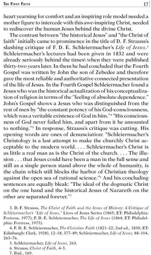 essay on the three quest for the historical jesus
