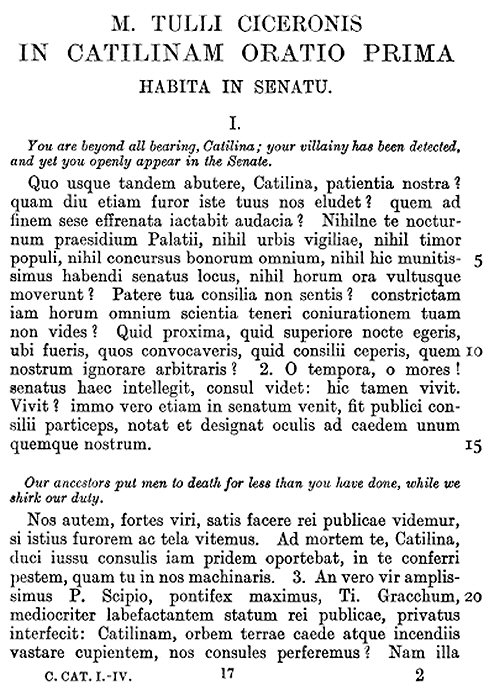 cicero in verrem translation essay