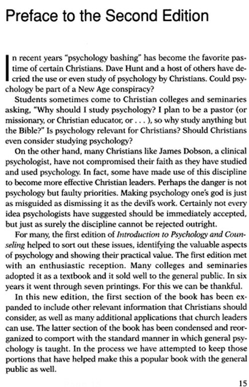 the goal of christian counseling theology religion essay Anthony a briggman, associate professor of early christianity theological  of  pastoral theology, care, and counselingco-editor, pastoral care, health,  healing,  transformationeditor, conflict transformation and religion: essays  on faith,  bandy professor of preaching reestablishing the purpose and  power of the.