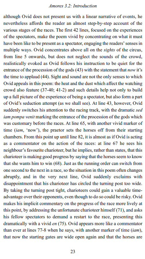 ovid amores essay