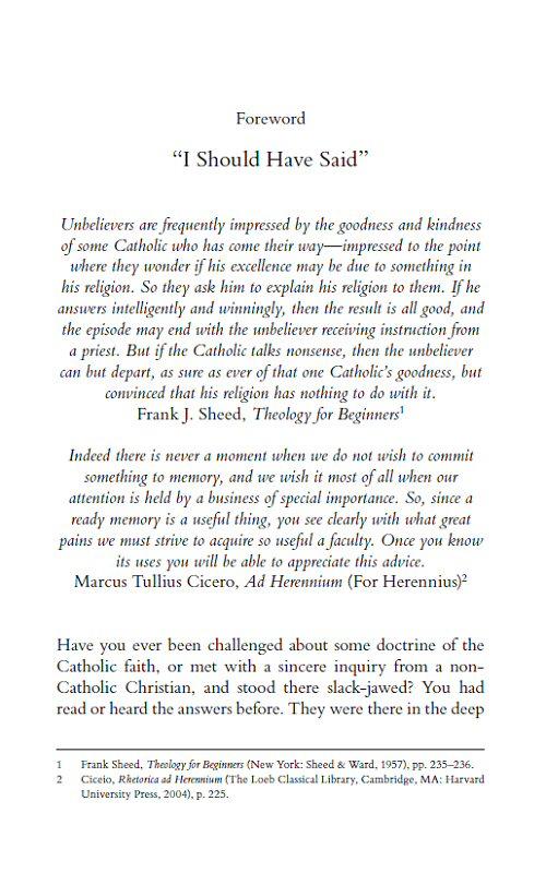 Catholic answers dating