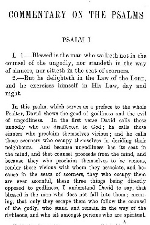 psalms research paper