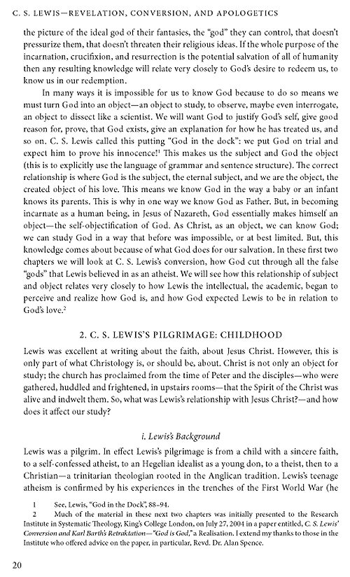"an overview of cs lewis essay The official c s lewis group has 13,306 members he has written a highly readable overview of c s lewis's theology yet insightful, essay, ""man or."