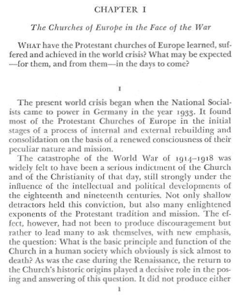 church church dogmatics essay in word