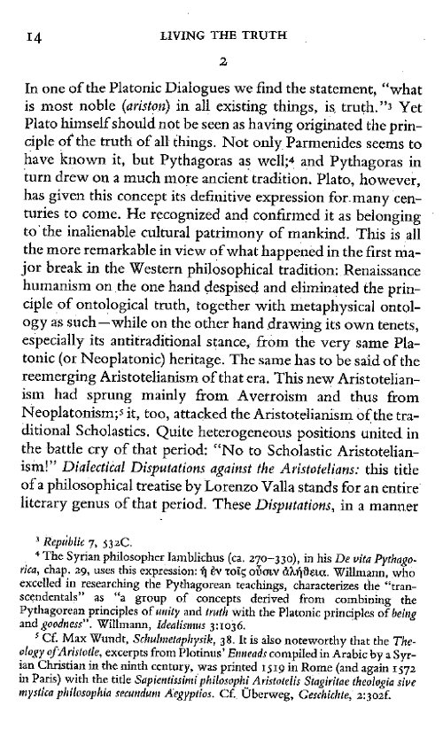 """philosophy according plato pieper and thoreau As best i can tell, classical greek philosophy is the human wellspring of the great tradition of the """"perennial philosophy"""" this view is quite broadly noted, but it comes to mind quickly that i recently read this sort of reference in karl jaspers, as cited by josef pieper, and from a graduate student who helpfully suggested a citation from ."""