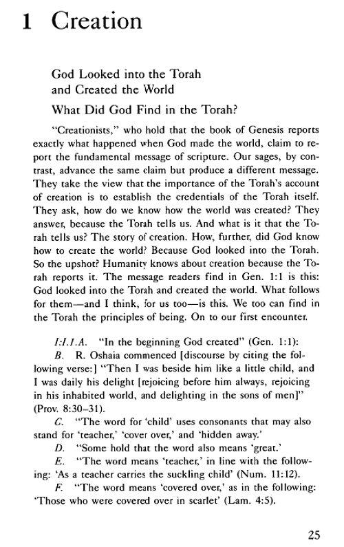 Genesis rabbah dating