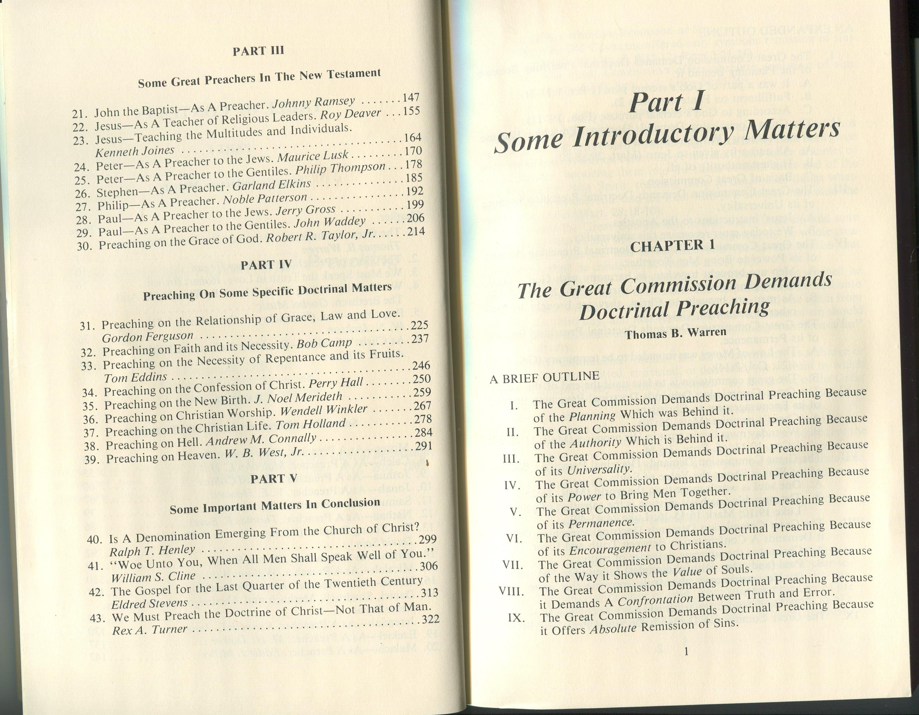 Thomas b warren collection 28 vols logos bible software god demands doctrinal preaching fandeluxe Gallery