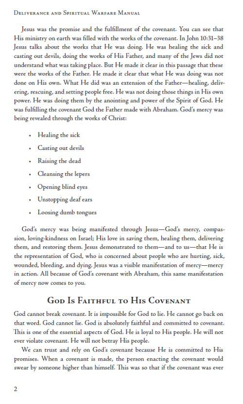 self deliverance prayer manual pdf