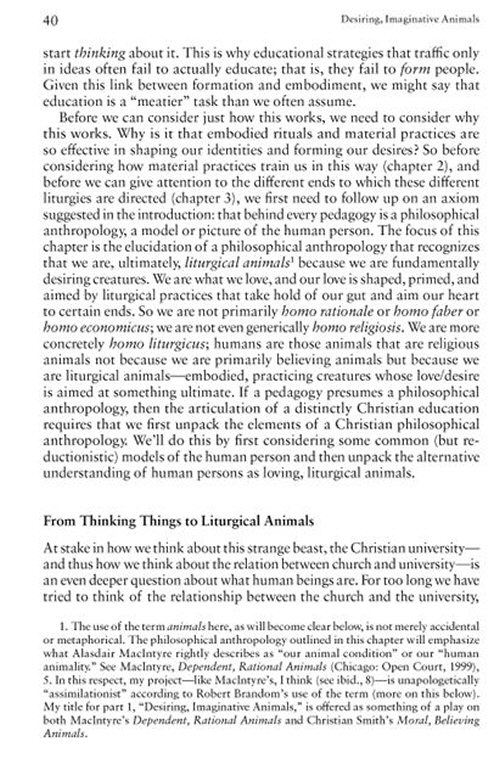 the principles of liturgy in smiths desiring the kingdom Buy desiring the kingdom: worship, worldview, and james k a smith focuses on the themes of liturgy and desire in desiring the kingdom desiring the kingdom focuses education around the themes of liturgy, formation, and desire smith's ultimate purpose is to re-vision christian.