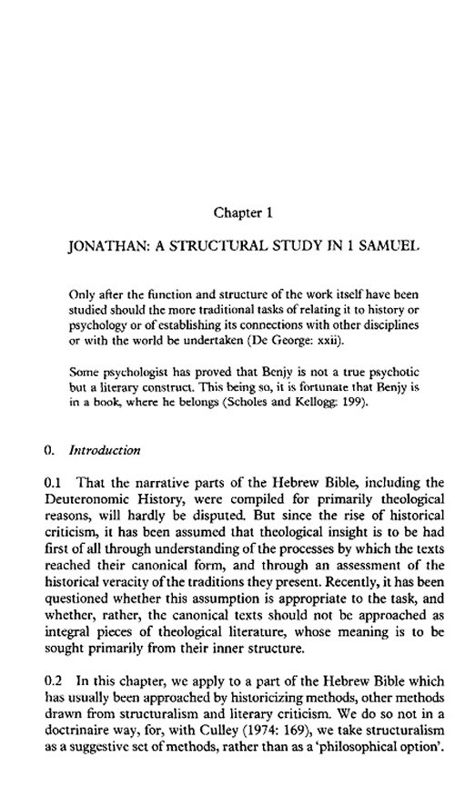 beyond form criticism essays in old testament literary criticism More on old testament literary criticism george w coats, saga, legend, tale, novella, fable: narrative forms in old testament literature (jsot sup, 35), sheffield academic, 1986 paul r house, beyond form criticism: essays in old testament literary criticism (sources for biblical and theological study, 2).