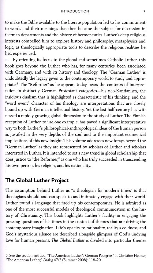 luther an intellectual historians persepective essay A comparison of three views of the nature of man and their impact on the modern church  (431), pelagianism no longer disturbed the greek church, so that the greek historians of the fifth century do not even mention either the controversy or the names of the heresiarchs  the main proponents of this intellectual movement, the philosophes.