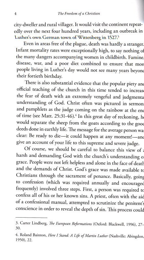 an introduction to the on the freedom of a christian by martin luther If you wanted to invite a few historical figures to a friendly party, martin luther might not be high on your list with a reputation for being.