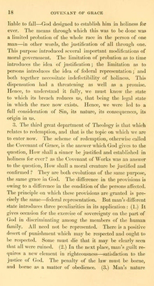 calvin covenant theology and the weber thesis Unity and continuity in covenantal thought is an important contribution to the history and historiography of covenant theology just as richard muller (in christ and the decree and his subsequent research) exploded the prevalent calvin versus the calvinists brand of historiography in tracing the transmission of the reformation into the post.